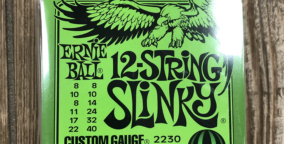 Ernie Ball 12-String Electric Guitar Strings