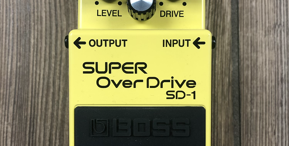 Boss SD1 Super Overdrive Pedal