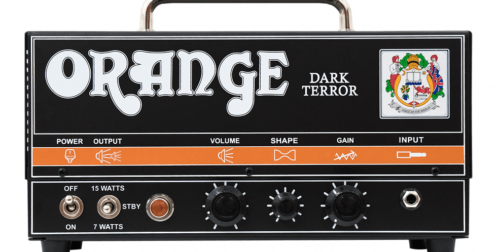 Orange Dark Terror Head w/bag