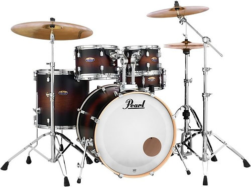 Pearl Decade Maple, Satin Brownburst