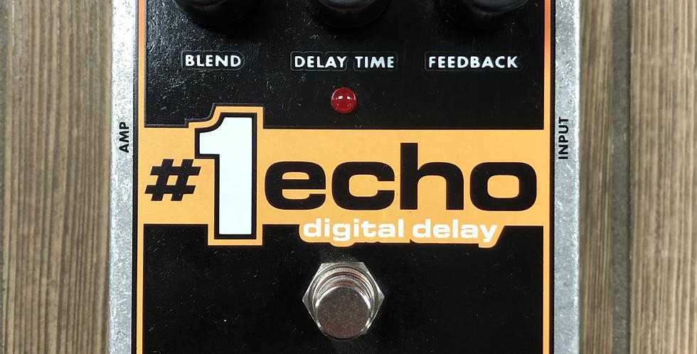 EHX Echo 1 Digital Delay w/ adapter