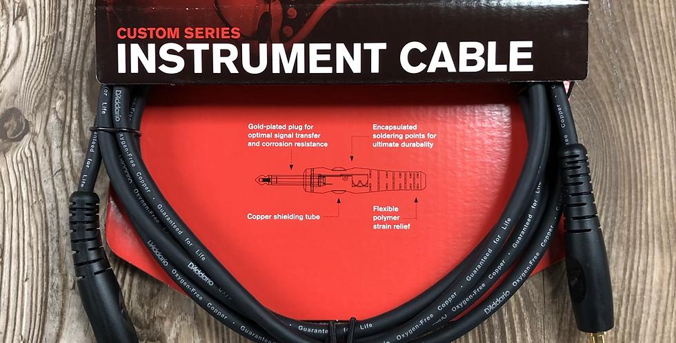 D'addario Custom Series 10' Instrument Cable