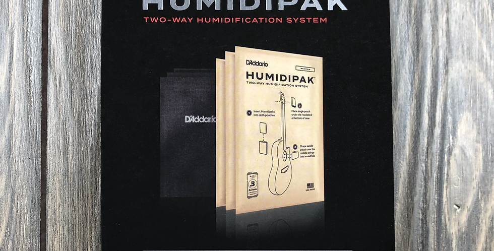 D'addario Hunidipak 2-Way Humidification System