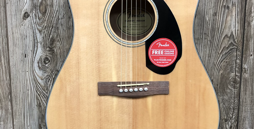 Fender CD60SCE Acoustic/Electric