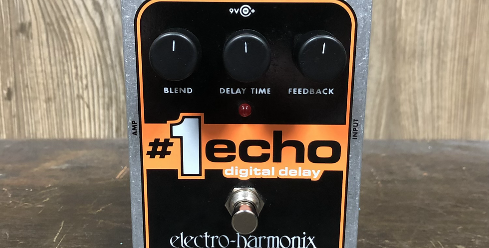 EHX Echo 1 Digital Delay w/ adapter