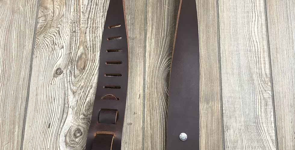 Rugged Leather Strap