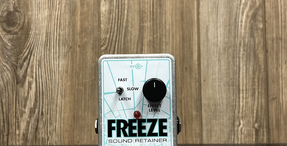 EHX Freeze Pedal w/ power supply