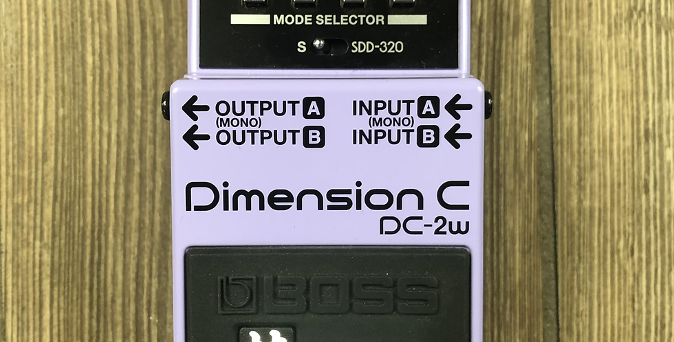 Boss DC-2W Dimension