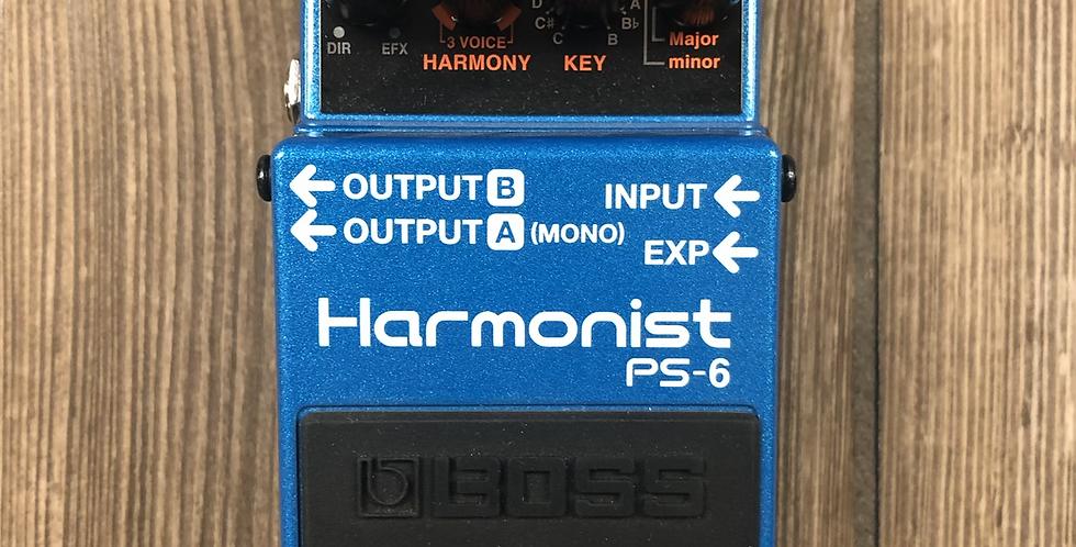 Boss PS6 Harmonist Pedal