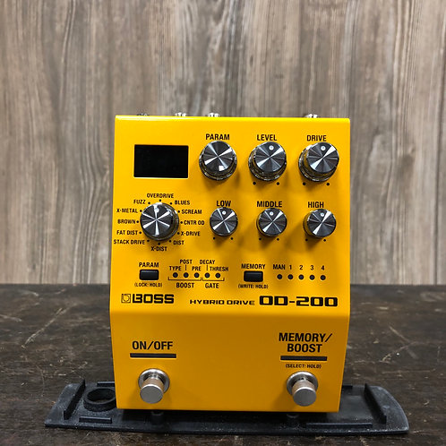 Boss OD-200 Overdrive Pedal