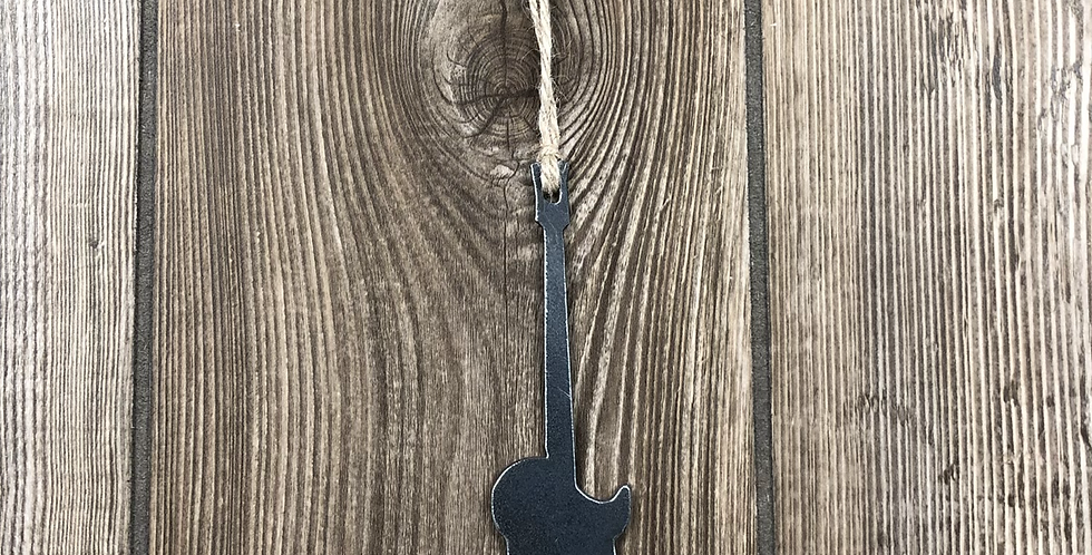 Local-Made Guitar Ornament