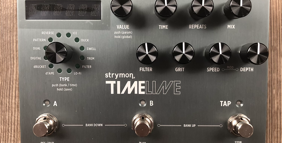 Strymon Timeline Multi Dimensional Delay