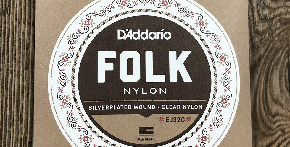 D'addario Nylon Guitar Strings