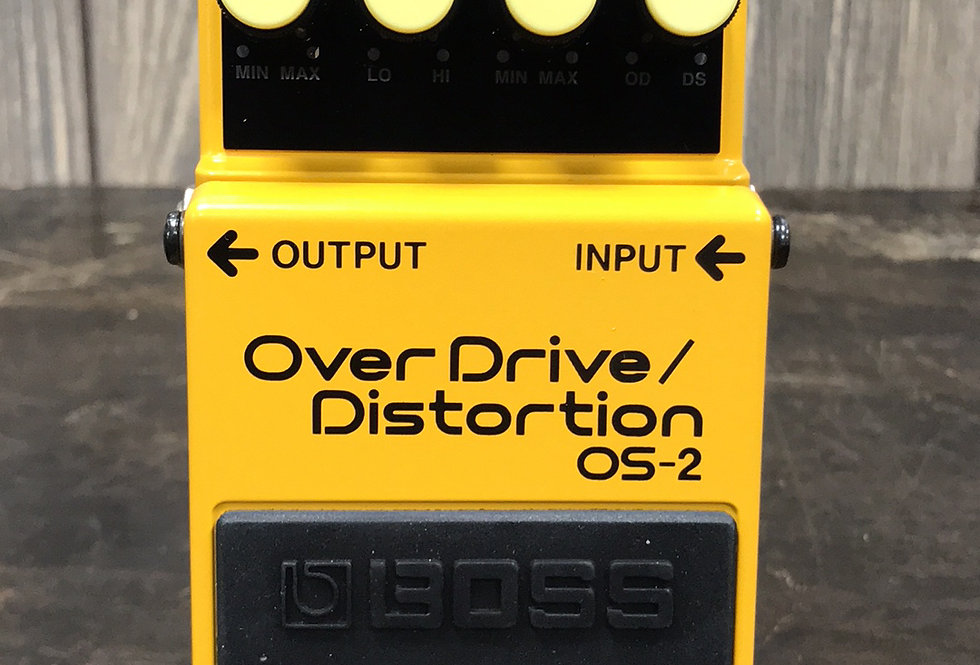 Boss OS2 Overdrive / Distortion Pedal