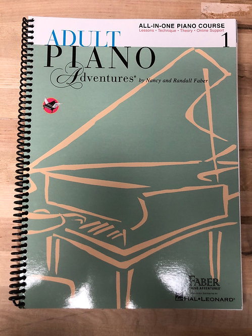 All-In-One Adult Piano Adventures
