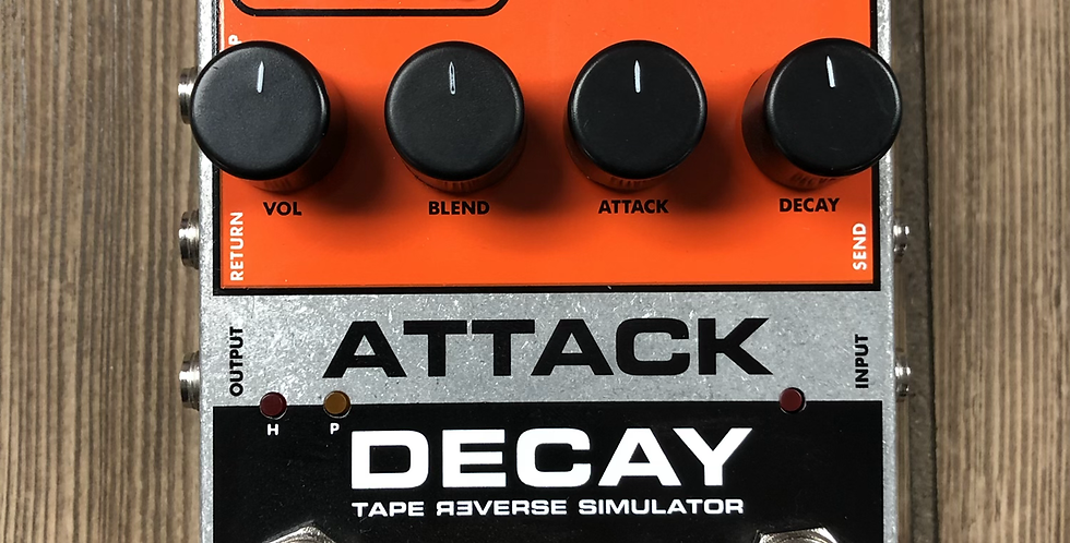 EHX Attack Decay w/ power supply