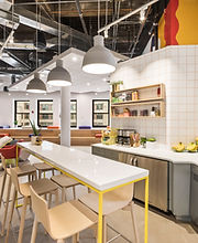 Modernt kök i Workspace