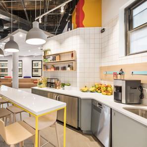 Moderne Küche in Workspace