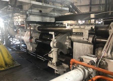 """2200 ton Farrel 8"""" press"""