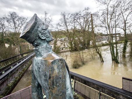 La Charente Noyée sous les eaux