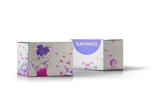 Self Love Savings spaardoosje