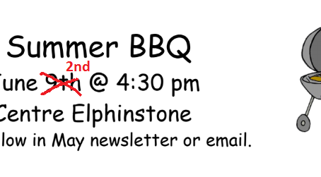 Annual ICR BBQ June 2nd
