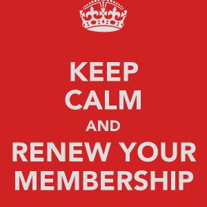 Renew Your Membership!