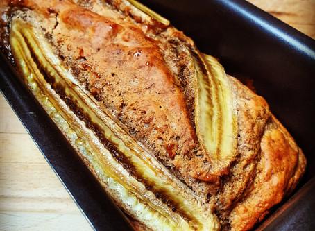 BANANA CAKE (vegan) + (version sans gluten inclus)