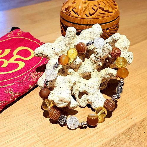 Bracelet pierres semi-précieuses N°556