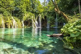 Les chutes d'eau de Plitvice