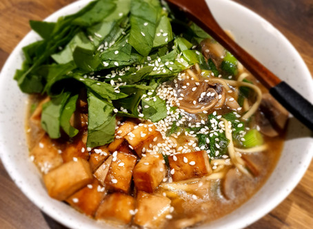 RAMEN, SOUPE DE NOUILLES SOBA & légumes à la japonaise
