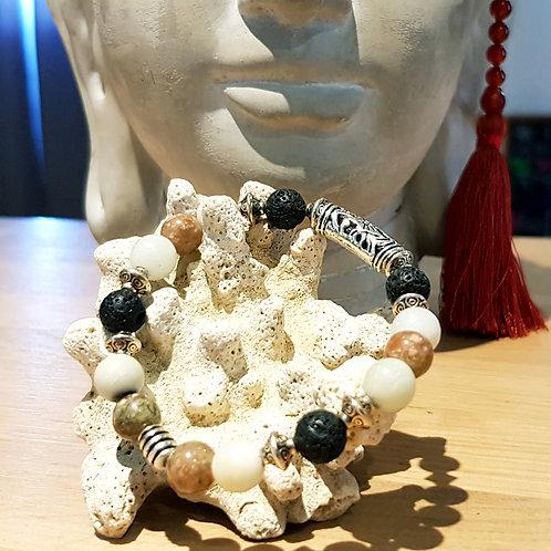 Bracelet pierres semi-précieuses N°295