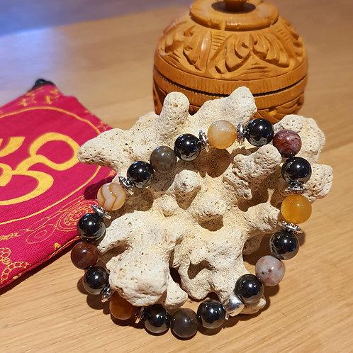 Bracelet pierres semi-précieuses N°548