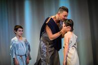 Titan Theatre Company's Medea with Triston Colton and Silas Wade