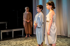 Titan Theatre Company's Medea with Ellen Fiske and Silas Wade
