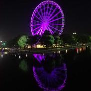 Ferris wheel in Montreal