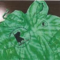 Green Tie-Dye Hoodies