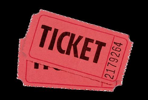 Numbered Raffle Ticket