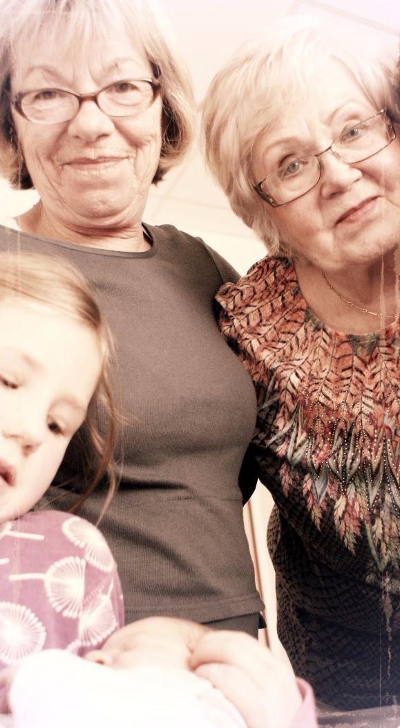 Oma Maria & Oma Erika