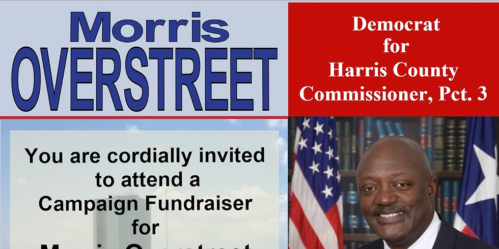 Morris Overstreet Campaign Fundraiser