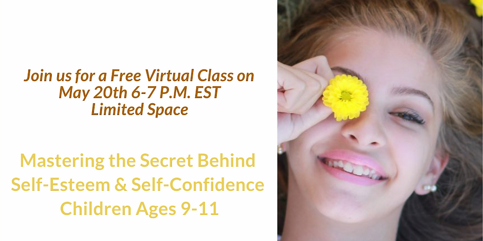 Fun and dynamic free virtual class that helps children build mindset skills for confidence and happiness.