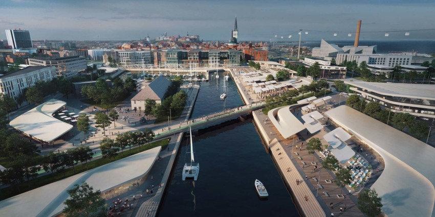 Mother Studio. Port of Tallin. Architecture design.