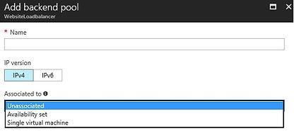 Azure Microsoft load balancer