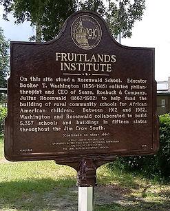 Fruitlands Institute marker
