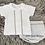 Thumbnail: White & Grey Jam Pants Set