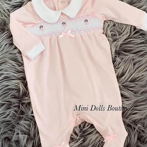 Pink Ballerina Babygrow
