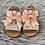 Thumbnail: Pink Bow T-Bar Sandals