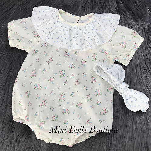 Swiss Dot Romper & Headband