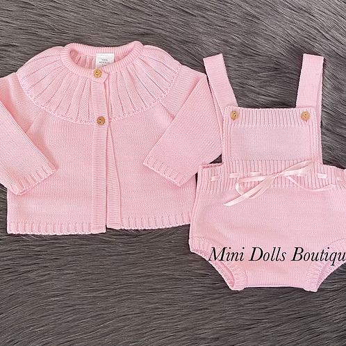 Pink Knitted 2 Piece