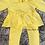 Thumbnail: Yellow legging set 3-6m (see description)